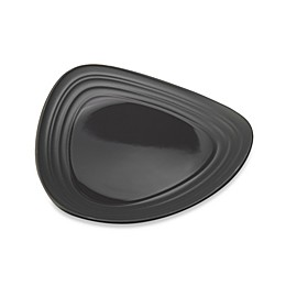 Mikasa® Swirl Triangle Salad Plate in Graphite