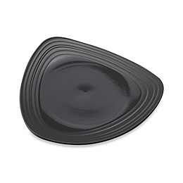 Mikasa® Swirl Triangle Dinner Plate in Graphite