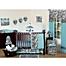 Part of the Sweet Jojo Designs Funky Zebra Crib Bedding Collection