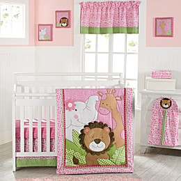 New Country Home Laugh, Giggle & Smile Sassy Jungle Friend Crib Bedding Collection