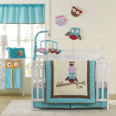 Laugh Giggle Smile Spotty Owls Crib