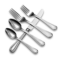 Lenox® Vintage Jewel® Frosted Flatware 5-Piece Place Setting
