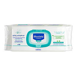 Mustela® 50-Count Stelatopia Replenishing Cleansing Wipes