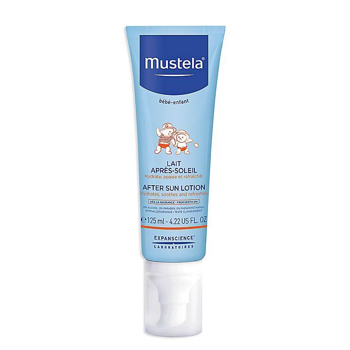 Alternate image 1 for Mustela® 4.2 fl. oz. After Sun Lotion