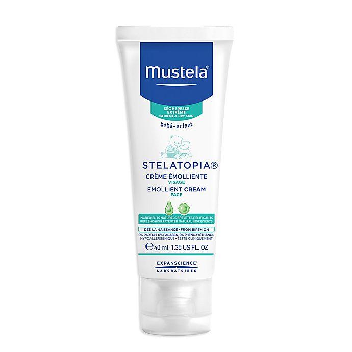 Alternate image 1 for Mustela® 1.35 fl. oz. Stelatopia Emollient Face Cream