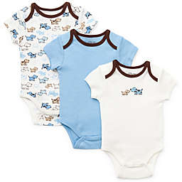Little Me® 3-Pack Puppies Bodysuit in Blue