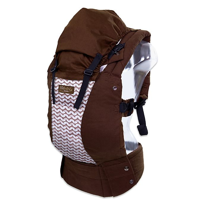 ba9ff1f0d2e lillebaby® Complete™ Designer Organic Cotton Baby Carrier in Toffee with  Waves