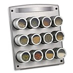 Kamenstein® Magnetic 12-Jar Spice Rack with Easel