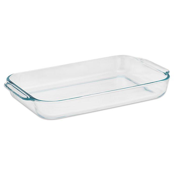 Alternate image 1 for Pyrex® 4 qt. Rectangular Baking Dish