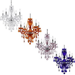 AF Lighting Naples Mini 4-Light Chandelier