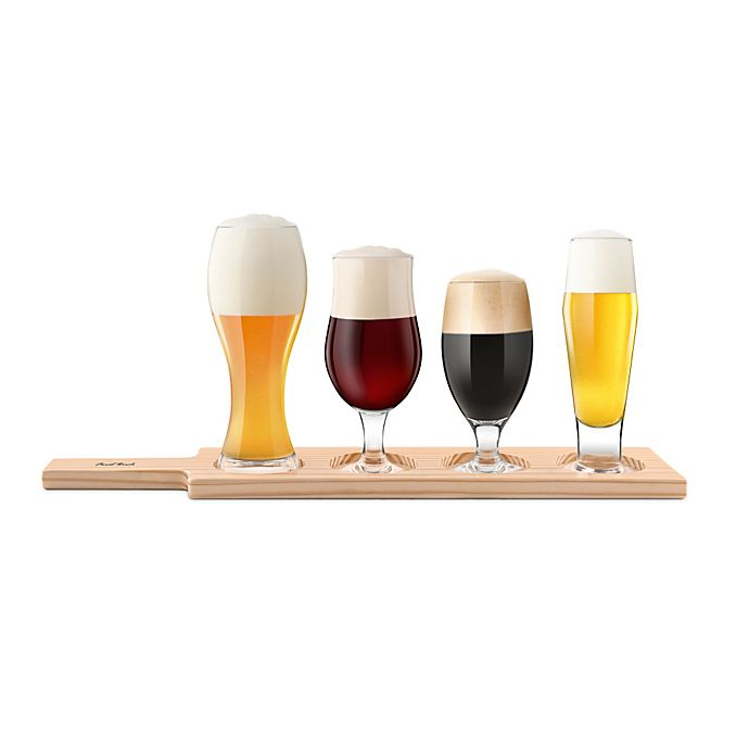 Alternate image 1 for Final Touch 6-Piece Beer Tasting Set