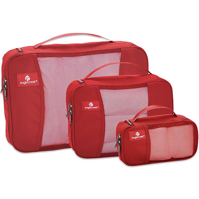 Alternate image 1 for Eagle Creek™ Pack-It® Packing Cube Set in Red Fire (Set of 3)