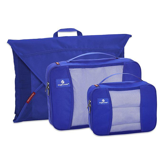 Alternate image 1 for Eagle Creek™ Pack-It® Starter Set Packing Cubes in Blue Sea (Set of 3)