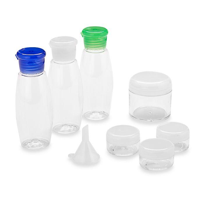 Alternate image 1 for Sprayco® 10-Piece Clear Carry On Kit
