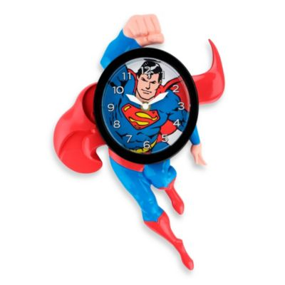 Superman 3 D Animated Wall Clock Bed Bath Amp Beyond