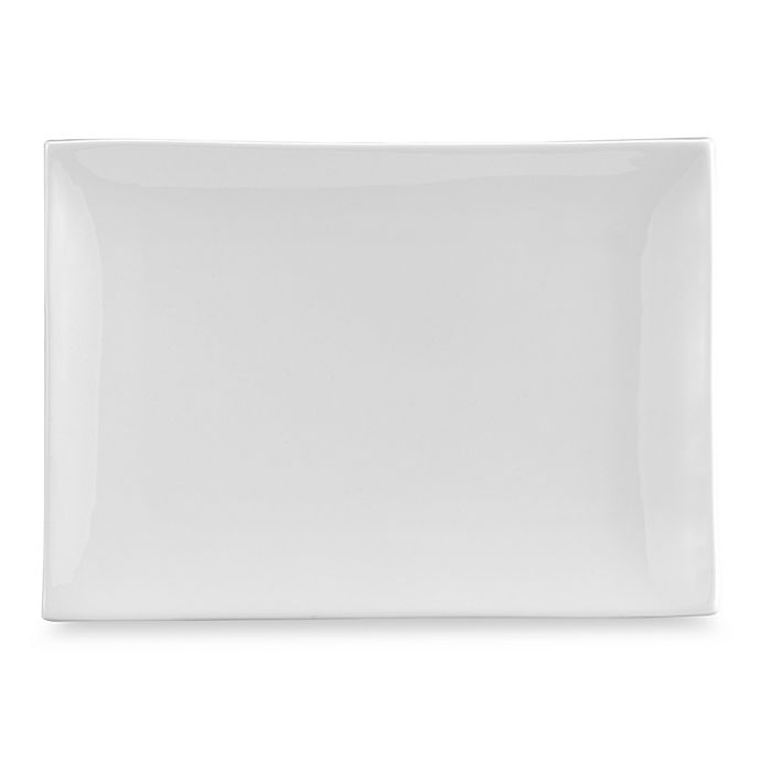 Alternate image 1 for Everyday White® by Fitz and Floyd® 9-Inch x 12 3/4-Inch Tray