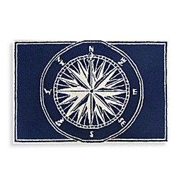 Trans-Ocean Compass Front Porch Accent Rug