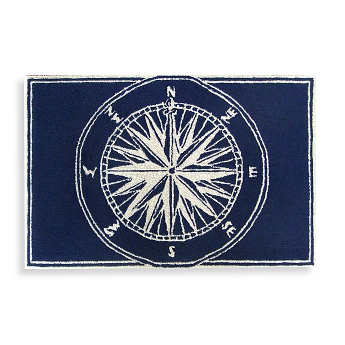 Alternate image 1 for Trans-Ocean Compass Front Porch Accent Rug