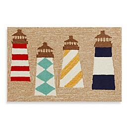 Trans-Ocean Frontporch Lighthouses Door Mat