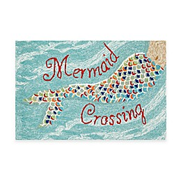Frontporch Mermaid Crossing Accent Rug