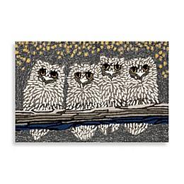 Trans-Ocean Frontporch Owls Door Mat
