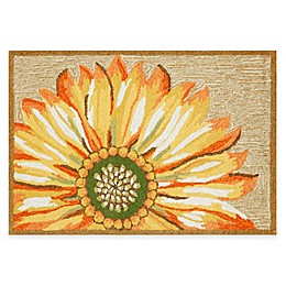 Trans-Ocean Frontporch Sunflower Accent Rug