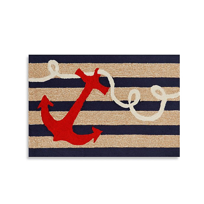 Alternate image 1 for Trans-Ocean 20-Inch x 30-Inch Frontporch Anchor Accent Rug
