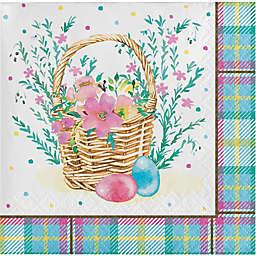 Storybook Easter Bunny 16-Count Paper Beverage Napkins