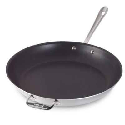 All Clad Stainless Steel Nonstick 14 Inch Fry Pan Bed