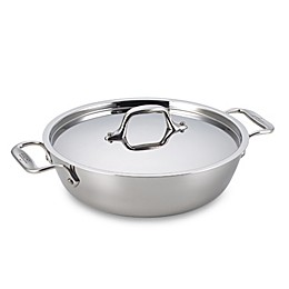 All-Clad Stainless Steel 3 qt. Covered Cassoulet