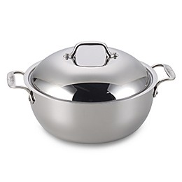 All-Clad Stainless Steel 5.5 qt. Covered Dutch Oven