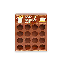 "16-Piece Single Serve Coffee ""K""eeper in Brown"