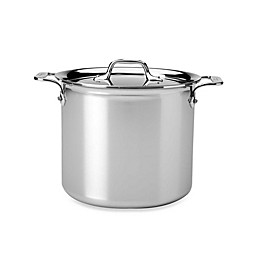 All-Clad D3 Stainless Steel Covered Stock Pots