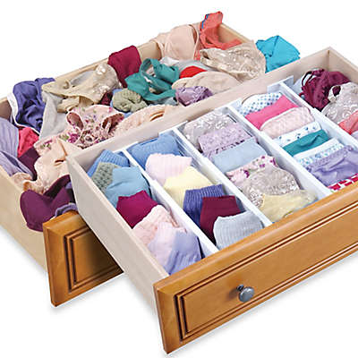 Dream Drawer™ Expandable Spring Loaded Drawer Dividers (Set of 2)