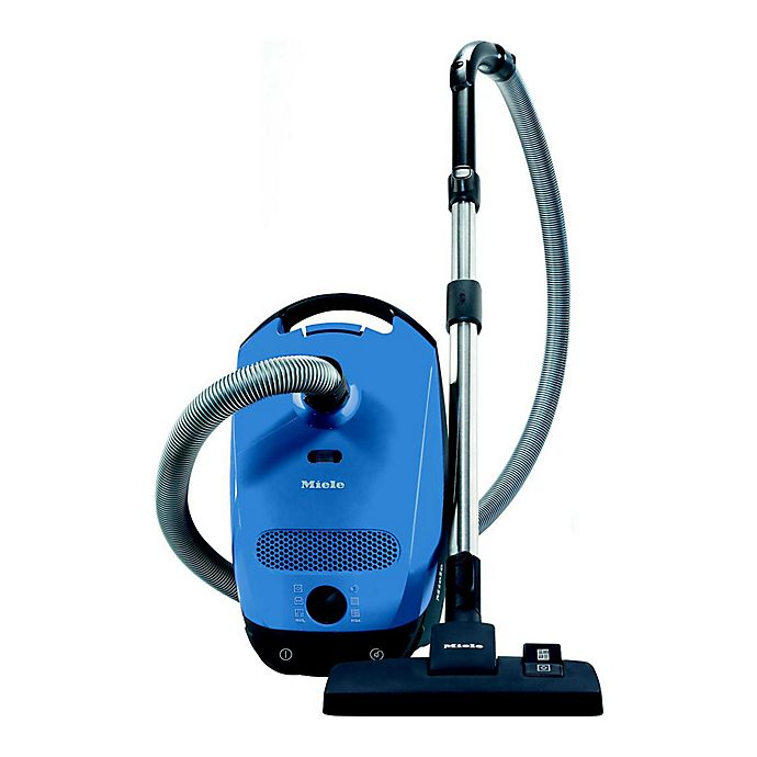 Alternate image 1 for Miele Classic C1 Hardfloor Canister Vacuum in Blue