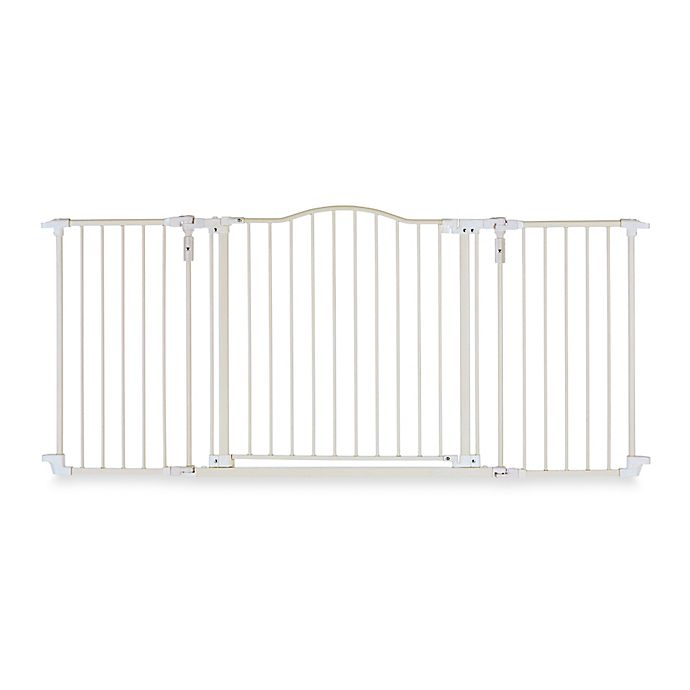 Alternate image 1 for Toddleroo by North States® Deluxe Décor Gate® in Soft White