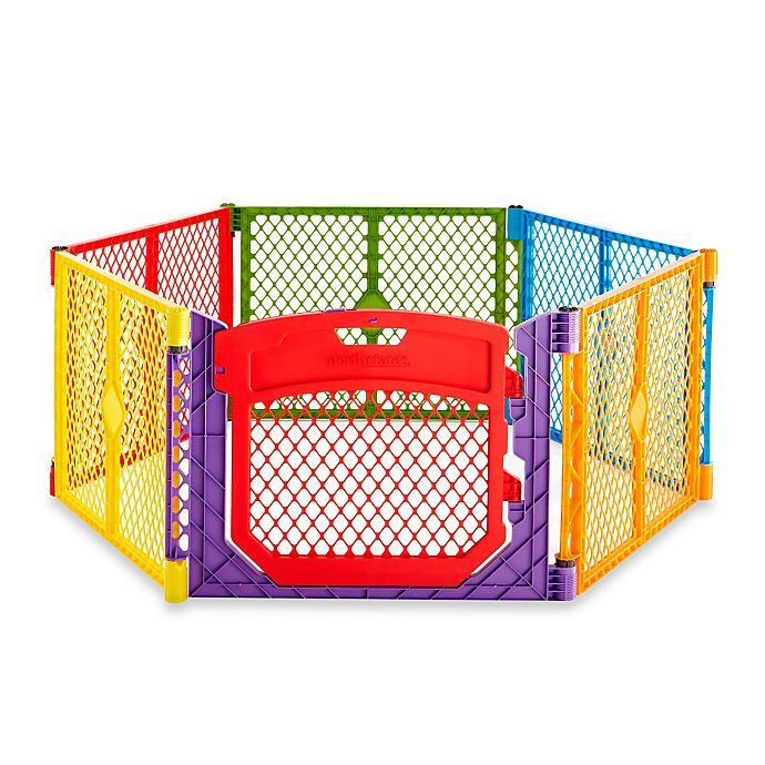 Alternate image 1 for Toddleroo by North States® Superyard Colorplay® Ultimate Playyard