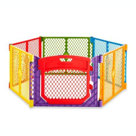 Toddleroo Superyard Colorplay Ultimate Playyard