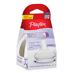 Playtex® 2-Pack Fast Flow Breastlike Nipples