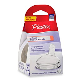 Playtex® 2-Pack Medium Flow Angled Nipples