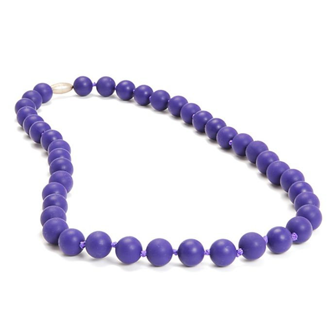 Alternate image 1 for chewbeads® Jane Necklace in Purple