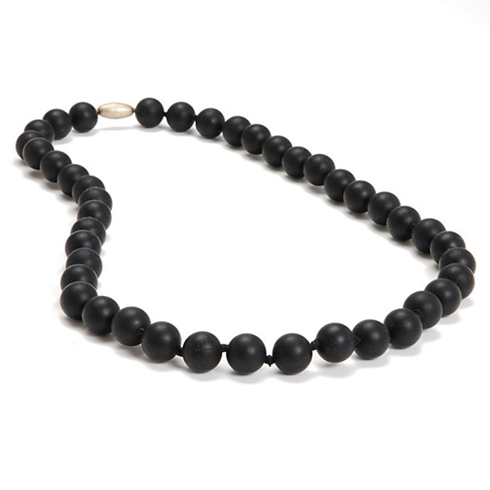 Alternate image 1 for chewbeads® Jane Necklace in Black