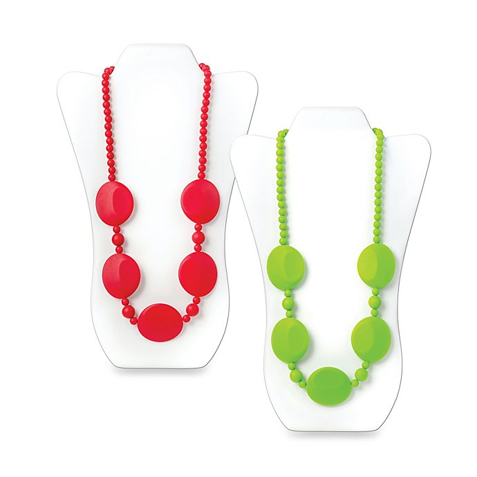 Alternate image 1 for Bumkins® Pietra Silicone Teething Necklace