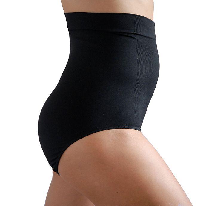 Alternate image 1 for Upspring MS Hi-Waist Postpartum Recovery Panty in Black