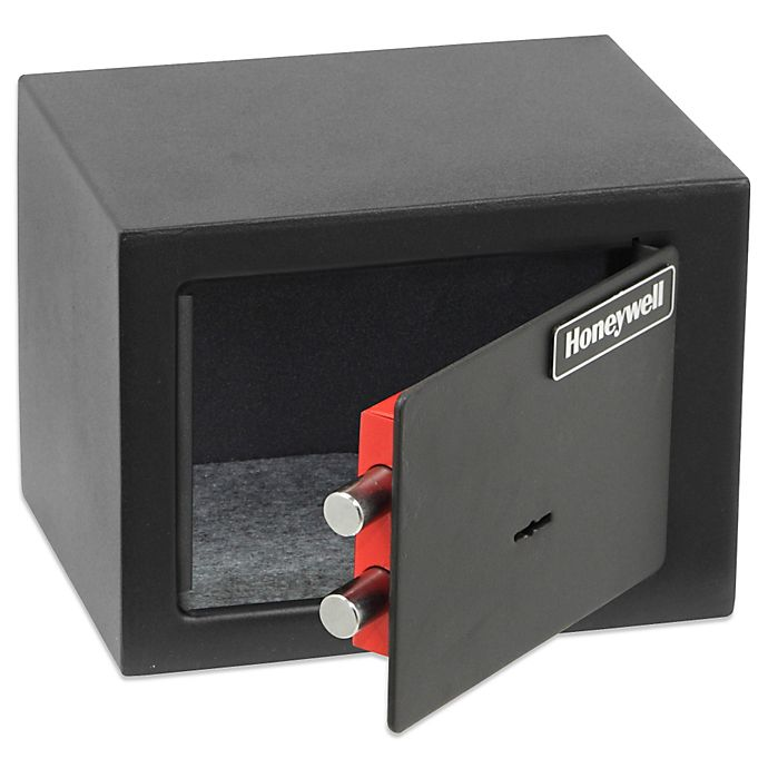 Alternate image 1 for Honeywell Small Steel Security Safe
