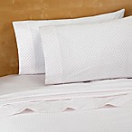 220-Thread-Count 100% Cotton King Sheet Set in Pink Dot