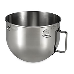 KitchenAid® 5 qt. Polished Stainless Steel Narrow Bowl with Handle