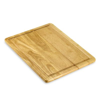 Architec® Gripper Wood 16-inch x 20-inch Cutting Board with Well