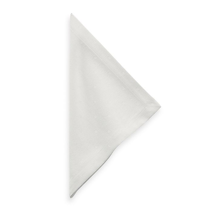 Alternate image 1 for kate spade new york Larabee Dot Napkin in Light Cream
