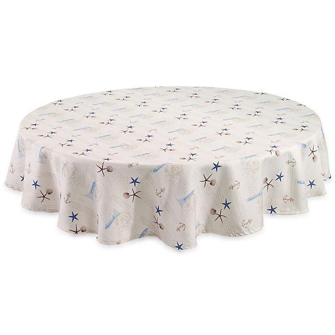 Alternate image 1 for Avanti Antigua 70-Inch Round Tablecloth